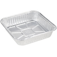 Durable Packaging 1100-30 9 inch Square Foil Cake Pan - 500 / Case