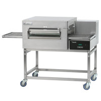 Lincoln Impinger II 1100 Series Ventless Single Electric Conveyor Oven Package - 240V, 10 kW, 3 Phase