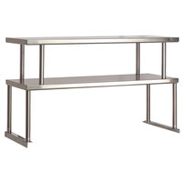 Advance Tabco TOS-6-18 Stainless Steel Double Overshelf - 18 inch x 93 1/8 inch
