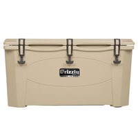 100 Qt. Tan Extreme Outdoor Grizzly Merchandiser / Cooler