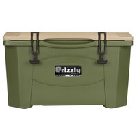 40 Qt. Olive Green Extreme Outdoor Grizzly Merchandiser / Cooler