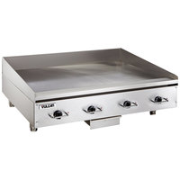 Vulcan RRE48E 48 inch Electric Countertop Griddle with Rapid Recovery Plate and Snap-Action Thermostatic Controls - 240V, 1 Phase, 21.6 kW