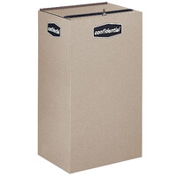 Rubbermaid FGNC30L Collect-A-Cube 28.5 Gallon Beige Recycling Receptacle with Lock