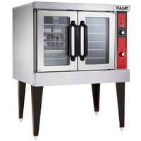 Vulcan VC4EC-208/3 Single Deck Full Size Electric Convection Oven with Computer Controls - 208V, 3 Phase, 12.5 kW