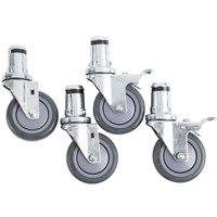 Vulcan CSTSET-SINGLE 4 inch Casters - 4/Set