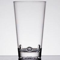 GET SW-1475-CL Loft 16 oz. Clear Stackable SAN Plastic Glass   - 24/Case