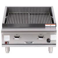 Vulcan VTEC25 Natural Gas 25 inch Infrared Charbroiler - 44,000 BTU