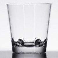 GET SW-1474-CL Loft 12 oz. Clear Stackable SAN Plastic Rocks Glass - 24/Case