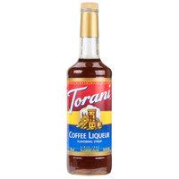Torani 750 mL Coffee Liqueur Flavoring Syrup
