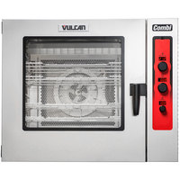 Vulcan ABC7E-480 Half Size Electric Combi Oven - 480V, 3 Phase, 24 kW