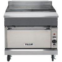 Vulcan VWT36S-LP V Series Liquid Propane 36 inch Spreader Cabinet with Standard Oven - 50,000 BTU