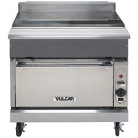 Vulcan VWT36S-NAT V Series Natural Gas 36 inch Spreader Cabinet with Standard Oven - 50,000 BTU