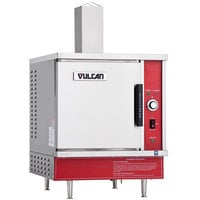Vulcan VSX5G-NAT 5 Pan Natural Gas Countertop Steamer - 45,000 BTU