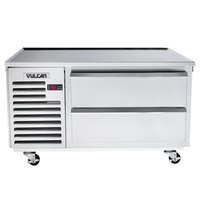 Vulcan ARS48 48 inch 2 Drawer Refrigerated Chef Base
