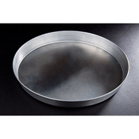 12 inch x 2 inch Tapered Aluminum Deep Dish Pizza Pan
