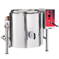 Vulcan K60GLT-LP Liquid Propane 60 Gallon Tilting 2/3 Steam Jacketed Kettle - 100,000 BTU