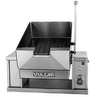 Vulcan VECTS12-240/3 12 Gallon Manual Tilt Braising Pan / Tilt Skillet - 240V, 3 Phase, 9 kW