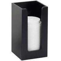 Cal-Mil 298-96 Midnight Cup / Lid Organizer - 4 1/2 inch x 4 1/2 inch x 8 inch