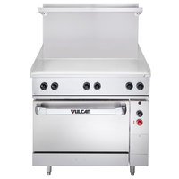 Vulcan EV36S-36G480 Endurance Series 36 inch Electric Range with Griddle Top - 480V, 15.2 kW