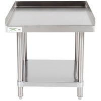 Regency 24 inch x 24 inch 16-Gauge Stainless Steel Equipment Stand With Undershelf