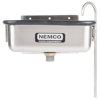 Nemco 77316-13 12 3/4 inch Ice Cream Dipper Well and Faucet Set