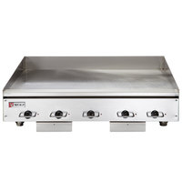 Wolf WEG60E-208/3 60 inch Electric Countertop Griddle with Thermostatic Controls - 208V, 3 Phase, 27 kW