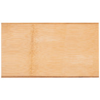 American Metalcraft BWB105 10 inch x 5 3/4 inch Carbonized Bamboo Serving Board