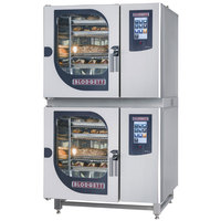 Blodgett BCT-61-61E Double Electric Combi Oven with Touchscreen Controls - 208V, 3 Phase, 9 kW / 9 kW
