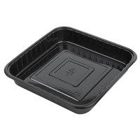 Genpak 55388 Bake 'N Show Dual Ovenable Square Brownie / Cake Pan - 250/Case