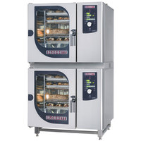 Blodgett BCM-61-61E Double Electric Combi Oven with Dial Controls - 480V, 3 Phase, 9 kW / 9 kW
