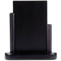 American Metalcraft ELEBLSM Black Table Top Board - 4 inch x 6 inch