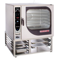 Blodgett BX-14G-NAT Natural Gas Single Full Size Boilerless Combi Oven with Manual Controls - 65,000 BTU