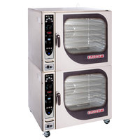 Blodgett BCX-14E-208/3 Double Full Size Electric Combi Oven with Manual Controls - 208V, 3 Phase, 38 kW