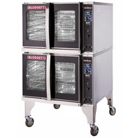 Blodgett HVH-100E-480/3 Double Deck Full Size Electric Hydrovection Oven with Helix Technology - 480V, 3 Phase, 30 kW