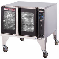 Blodgett HVH-100G-LP Liquid Propane Single Deck Additional Unit Full Size Hydrovection Oven with Helix Technology - 60,000 BTU