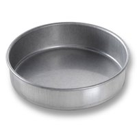 Chicago Metallic 46150 6 inch x 1 1/2 inch Aluminized Steel Round Cake Pan