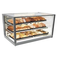 Federal Industries ITD3634 Italian Series 36 inch Countertop Dry Bakery Display Case - 15.5 cu. ft.