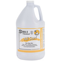 Noble Chemical 1 Gallon All Surf All Purpose Liquid Cleaner (Non-Butyl) - Ecolab® 14522 Alternative - 4/Case