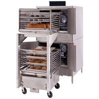 Blodgett ZEPHAIRE-200-E-208/3 Single Deck Full Size Bakery Depth Roll-In Electric Convection Oven - 208V, 3 Phase, 11 kW