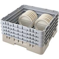Cambro CRP141012184 Beige Full Size PlateSafe Camrack 10 1/2-12 1/2 inch