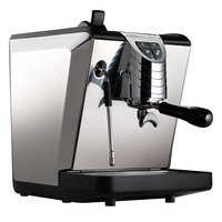 Nuova Simonelli MOP140D204 Oscar II Black Professional Espresso Machine - Direct Connection, 110V