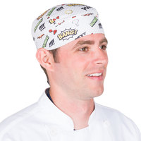 Headsweats 8740-801SCOMICS Comics Shorty Chef Cap