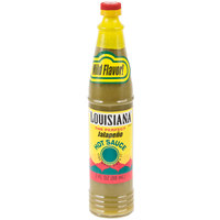 Louisiana 3 oz. Jalapeno Hot Sauce   - 12/Case