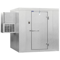 Nor-Lake Kold Locker 4' x 5' x 6' Indoor Walk-In Cooler with Wall Mounted Refrigeration