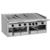 Bakers Pride C-24R Natural Gas 24 inch Radiant Charbroiler - 108,000 BTU