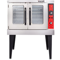 Vulcan VC3ED-12D1 Single Deck Full Size Electric Convection Oven - 240V, 12.5 kW