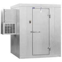 Nor-Lake Kold Locker 6' x 8' x 7' 7 inch Outdoor Walk-In Cooler with Wall Mounted Refrigeration