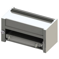 Blodgett BR-B36-WM-LP Cafe Series Liquid Propane 36 inch Wall Mount Infrared Salamander Broiler - 35,000 BTU