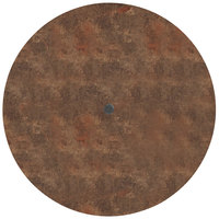 Grosfillex US48FA37 Sunset 48 inch Round Lava Table Top