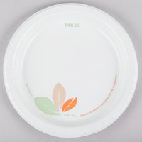 Dart Solo MP9B-J7234 Bare 8 1/2 inch Medium Weight Paper Plate - 500/Case